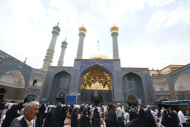 hazrat-e-masumeh qom shrine 9