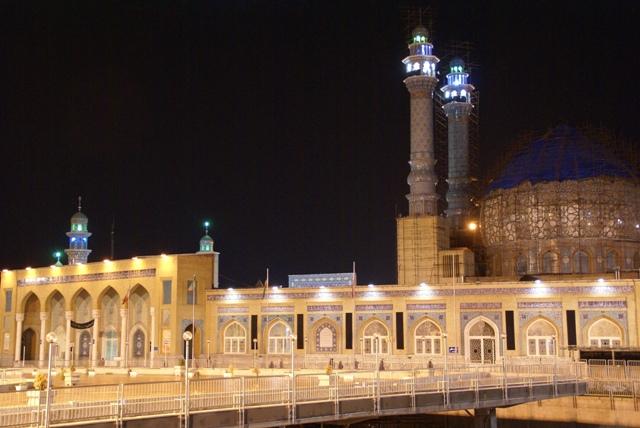 hazrat-e-masumeh qom shrine