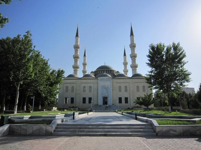 mesquita azadi  ashgabat