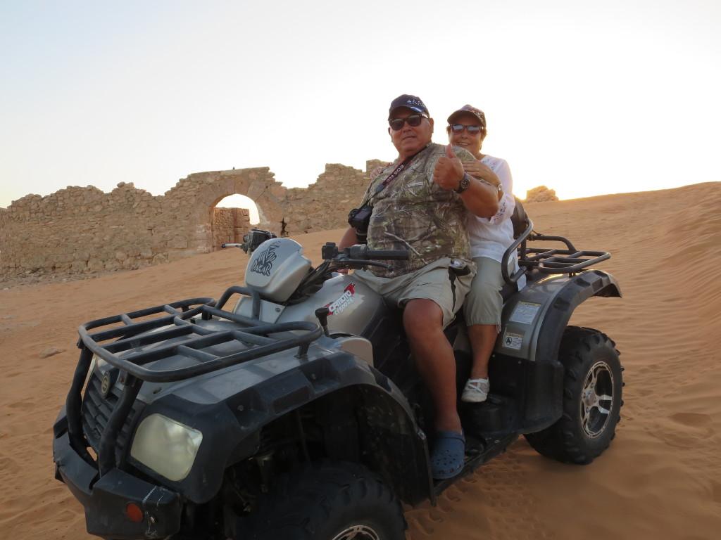 apanhámos alguns sustos mas agora compreendo o entusiasmo dos participantes no PARIS-DAKAR quando andam nas dunas !!!