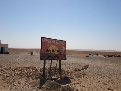 mas quem é que em pleno deserto precisa de um camping???