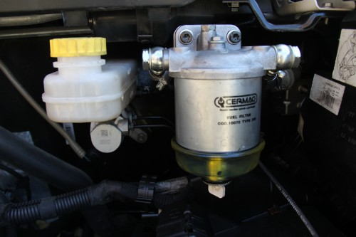 o indispensável pré-filtro para o diesel