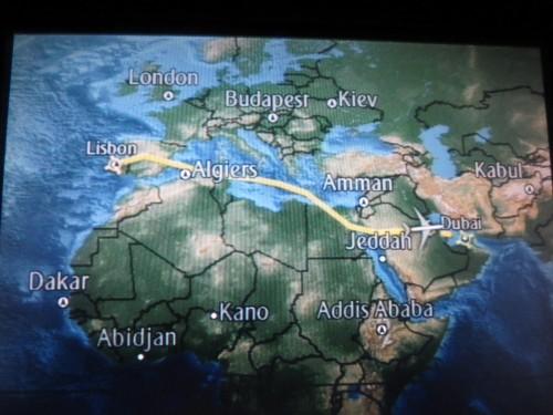1ª etapa : LISBOA-DUBAI