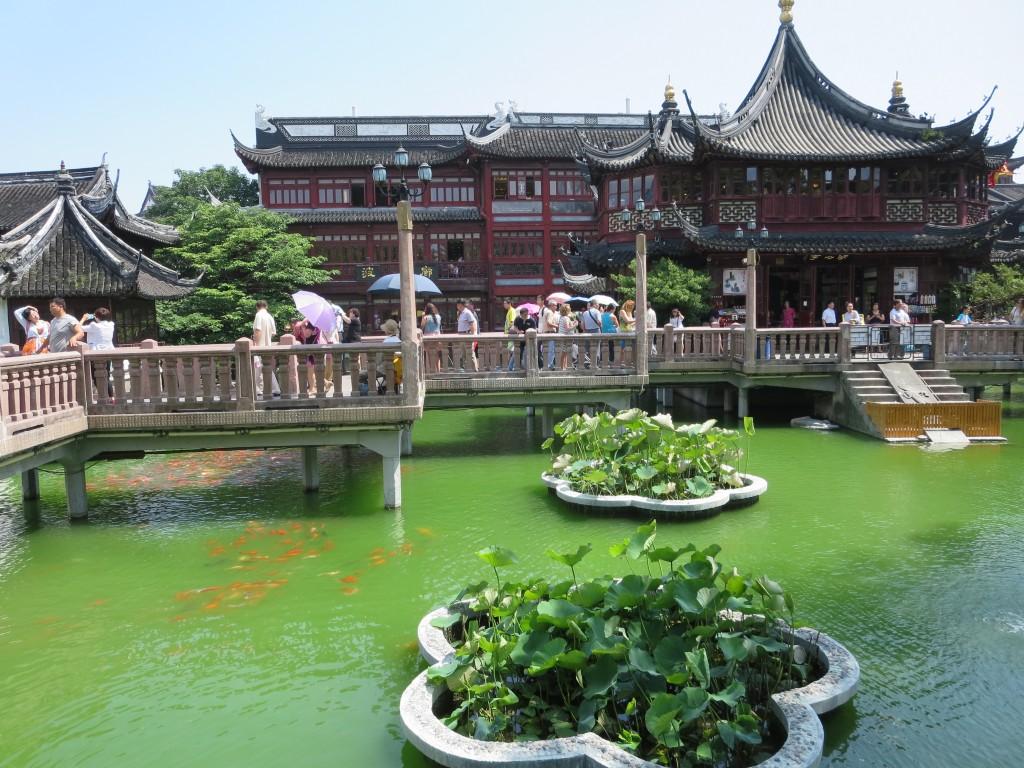 parte dos jardins YU e cidade velha