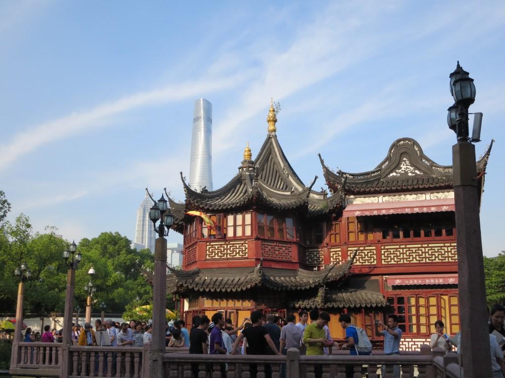 a mais famosa casa de chá de SHANGAI
