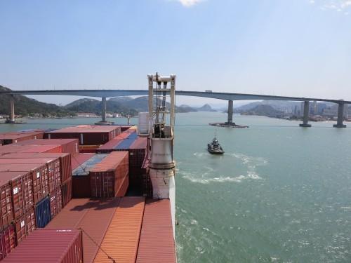 entrada no porto de VITÓRIA