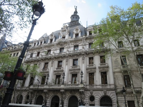 a sede do jornal mais famoso LA PRENSA