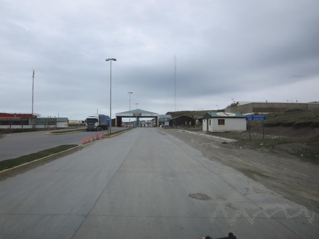 fronteira argentina-chile : paso de san sebastián