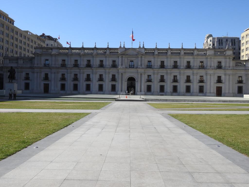 palácio presidencial LA MONEDA