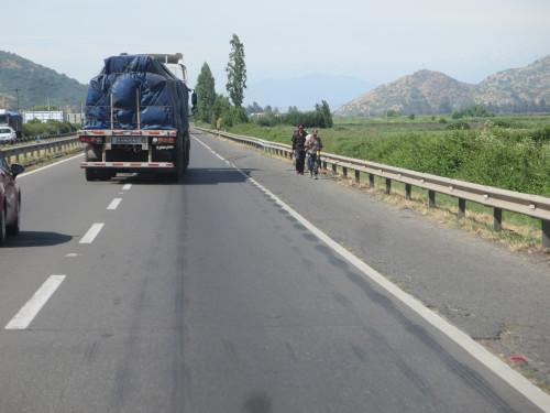é claro que o povo que não tem transporte próprio também tem direito a usar a auto-estrada , pois então !!!