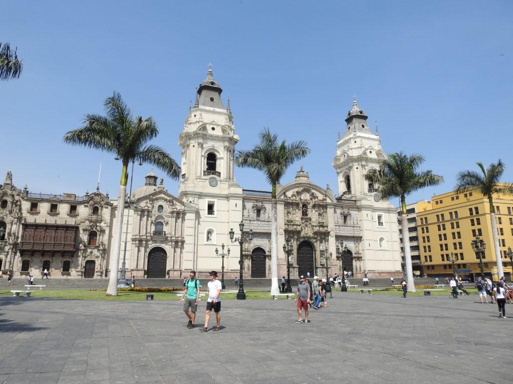 a catedral de LIMA